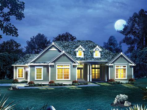 emilia cape  ranch home plan   house plans