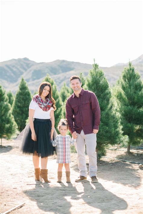 christmas tree farm family portrait irvine