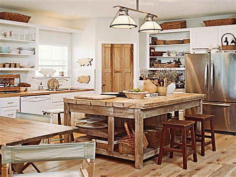 Miscellaneous » DIY Rustic Kitchen Island Plans   Interior