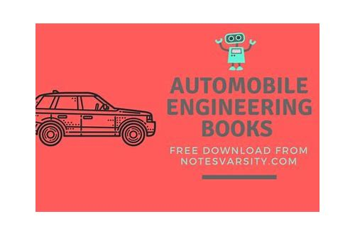 automobile engineering book pdf download