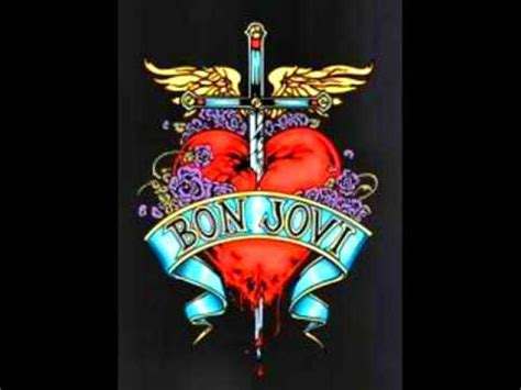 Bon Jovi Give Love Bad Name Lyrics Youtube