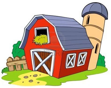 Barn Clipart by The Swinging Rope Incident Don T Open That Door