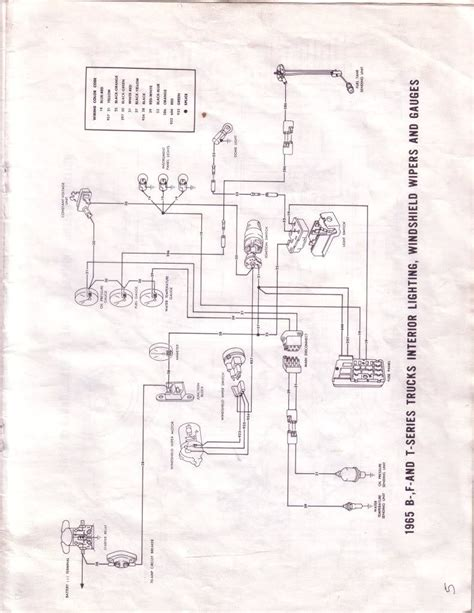 1965 Ford F150 Wiring Diagram by Is Ignition Switch Supposed To Be Connected To Temperature