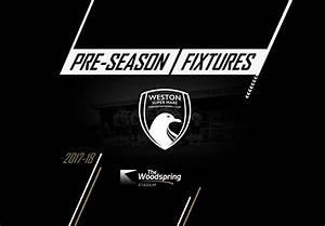 Weston-super-Mare AFC » 2017-18 PRE-SEASON HOME FIXTURES ...