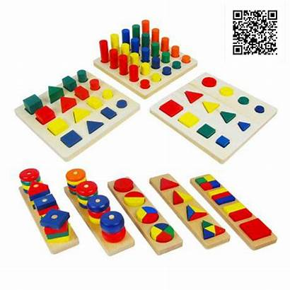 Montessori Materials Teaching Learning Aids Educational Cylinder