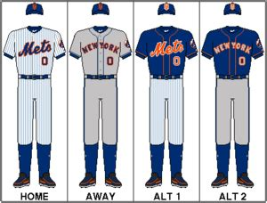 new york mets colors logos and uniforms of the new york mets