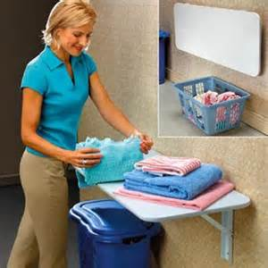 Fold Down Laundry Folding Table