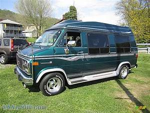 1995 Gmc Vandura G2500 Conversion Van In Emerald Green