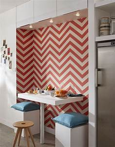 25 best wallpaper art ideas on pinterest With kitchen cabinets lowes with papier peint journal