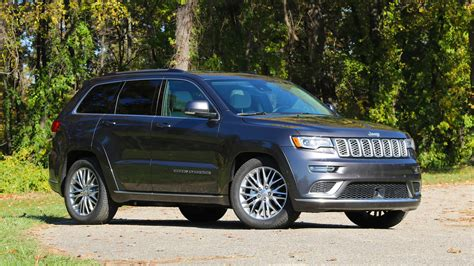 jeep summit 2017 2017 jeep grand cherokee summit review photo gallery
