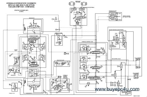 Bobcat T300 Schematic by Bobcat T320 Compact Track Loader Service Manual Pdf
