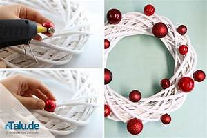 Weihnachtskranz Selber Machen : weihnachtskranz selber machen modernen adventskranz selber machen so geht 39 s mistelzweig ~ Markanthonyermac.com Haus und Dekorationen