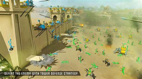 defense castle simulator stickman zombie battle apk android