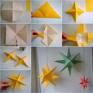 Comment Faire Une Etoile : 1001 id es originales comment faire des origami facile ~ Nature-et-papiers.com Idées de Décoration