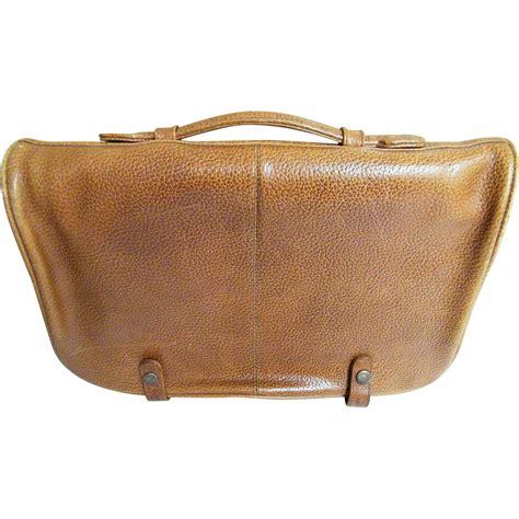 Cowhide Briefcase quality vintage cowhide briefcase light brown handle