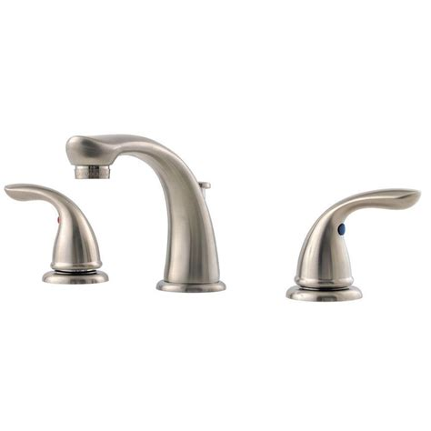 pfister pfirst series 8 in widespread 2 handle bathroom