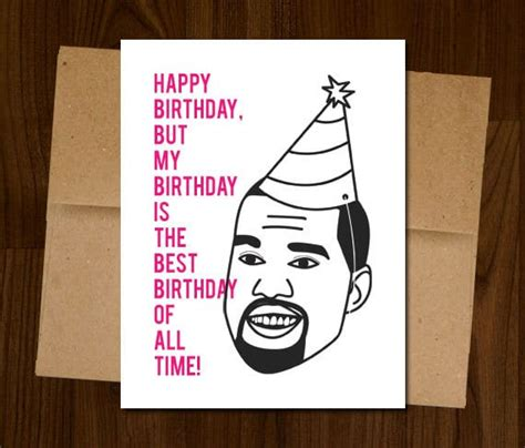 kanye birthday card 17 craziest items on etsy page 3 the