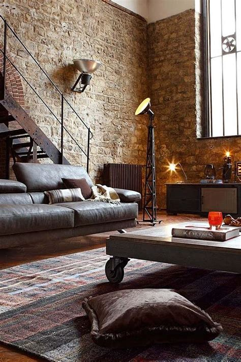how to decorate industrial style 25 best ideas about industrial living rooms on