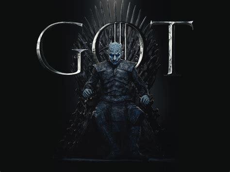 night king game  thrones season  poster wallpaper hd