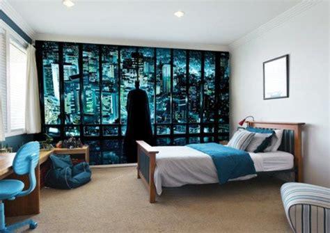 Boys Bedroom Wallpaper by Minimalist Boy Bedroom Ideas With Batman Mural