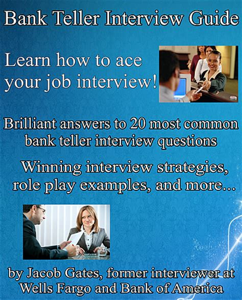Bank Teller Questions And Answers Exles by Bank Teller Guide Ebook From Jacob Gates