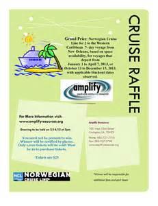 raffle basket ideas cruise raffle flyer 3 kimhiggins