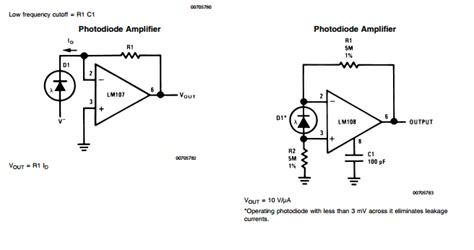 Amp How Amplify Little Signal Photodiode