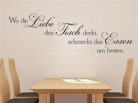 Wandtattoo Wo Die Liebe Den Tisch Deckt...