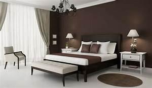 Schlafzimmer Braun Beige : beste wandfarbe f rs schlafzimmer braun schwarzer kronleuchter und gardinen home ideas ~ Watch28wear.com Haus und Dekorationen