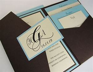 10 best images about folder wedding invites on pinterest With side pocket fold wedding invitations