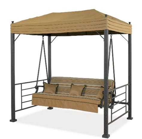 replacement patio swing canopy home depot sonoma swing replacement canopy cover garden winds