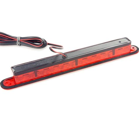 hella led third brake light lens 258mm car
