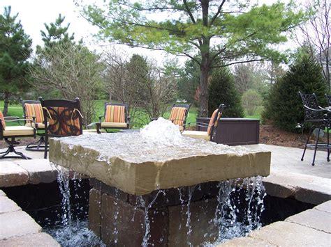 outdoor water landscaping backyard design ideas