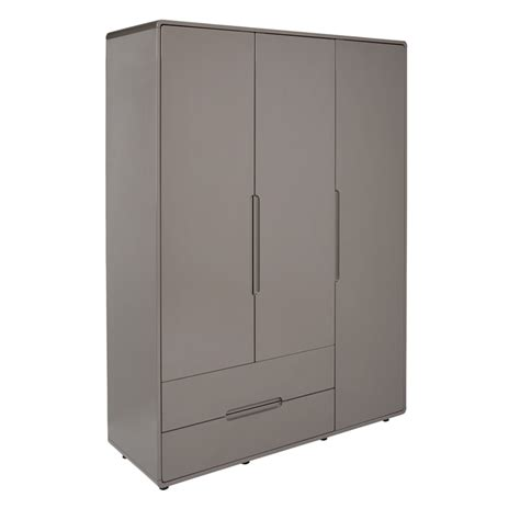 One Door Wardrobe With Drawers by Notch Wardrobe Three Door With Drawers Dwell