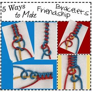 Friendship Bracelets Patterns with Instructions Free ...
