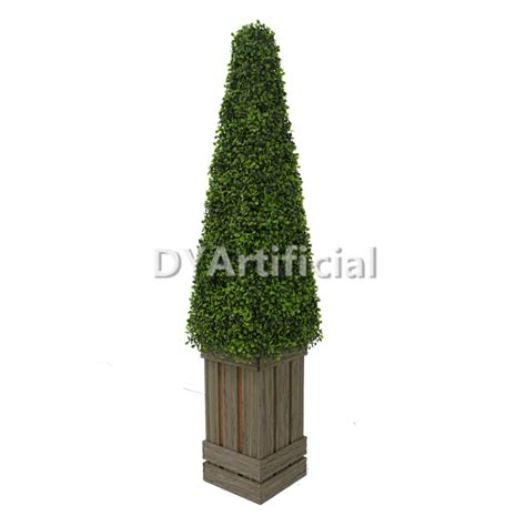 4ft potted artificial cone tower tree dongyi