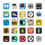 App Mobile Icons Vector Stockunlimited Graphic