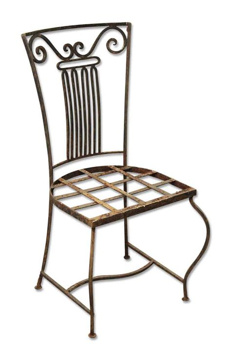 vintage wrought iron patio furniture vintage wrought iron garden chairs olde things