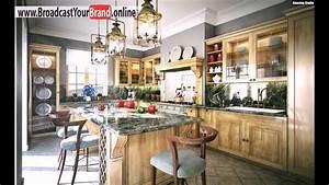 Arbeitsplatte Küche Eiche : wohnideen k che franz sisch landhaus eiche m bel granit ~ A.2002-acura-tl-radio.info Haus und Dekorationen