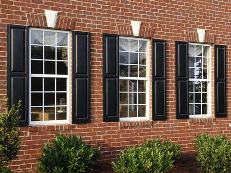 A Collection Of Exterior Shutter Styles-window Source Nh