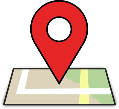 Location Clipart Clipart Map Location