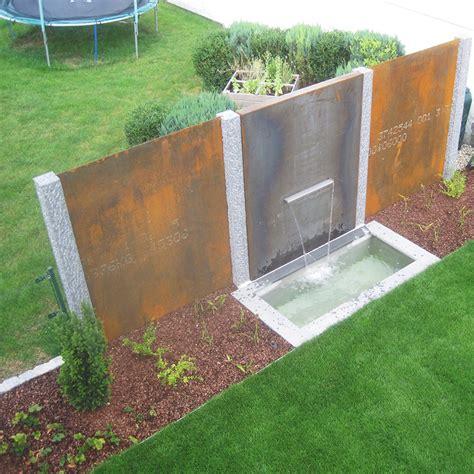 Sichtschutz Garten Aus Cortenstahl by Sichtschutz Garten Aus Cortenstahl Wohn Design