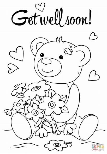 Soon Well Coloring Printable Pages Cards Better