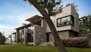 1000 idees sur le theme revetement de pierre sur pinterest With amazing maison bois et pierre 0 maison moderne maison en pierre pierre et bois