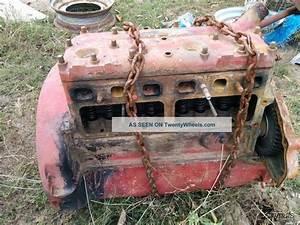 Ford 9n 8n 2n Engine Block With Header
