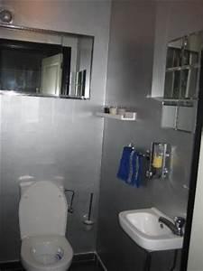 Deco Wc Gris : toilettes 2 photos jpdewitte ~ Melissatoandfro.com Idées de Décoration