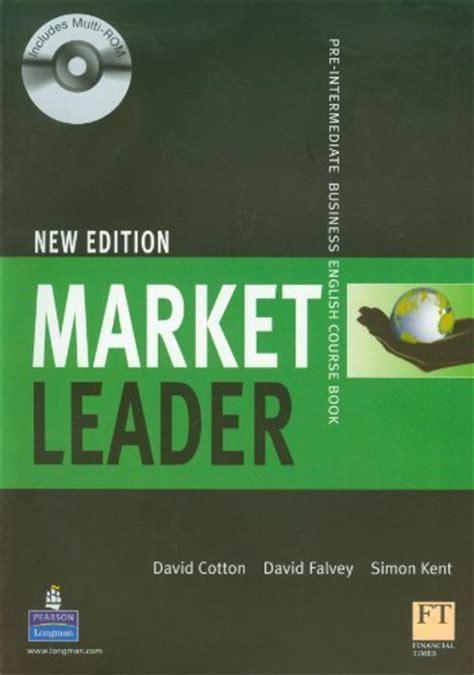 market leader  edition  book  cd rom pre