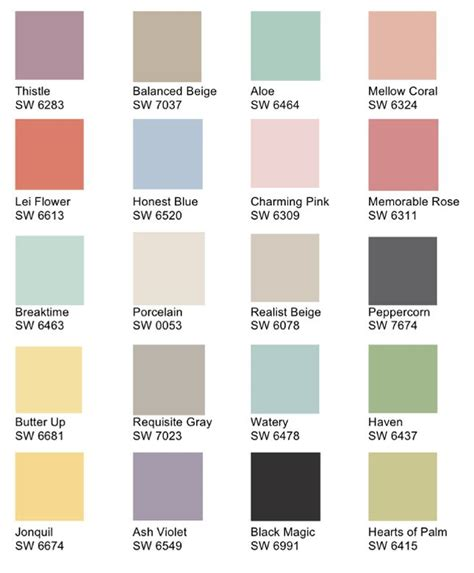 shabby chic colors for walls design decoration