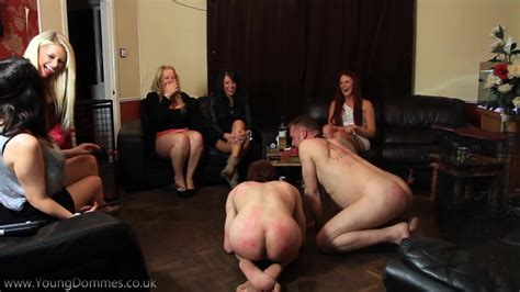 Male Subjects Humiliated At Feminist Party Femdom Free