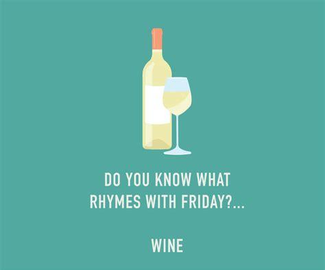 Friday Wine Card Funny Birthday Card by ClassyCardsCreative